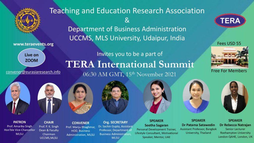 TERA international submit